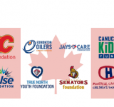 Canadian Pro Sport Teams and their Charities